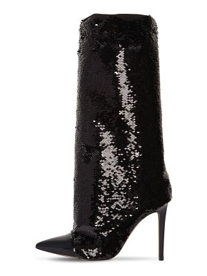 Alexandre Vauthier 100mm laura sequined tall boots