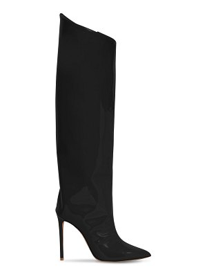 Alexandre Vauthier 110mm alex patent leather tall boots