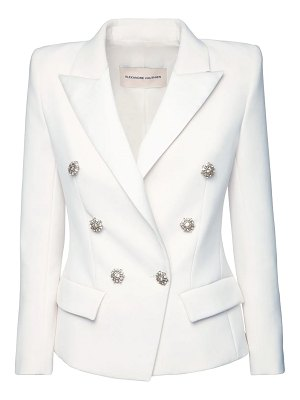Alexandre Vauthier Double breasted crepe blazer