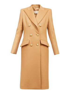 Alexandre Vauthier double-breasted longline coat