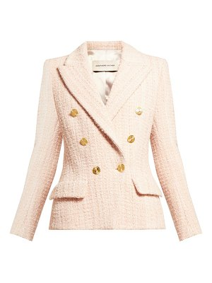 Alexandre Vauthier double breasted tweed jacket