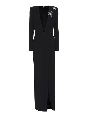Alexandre Vauthier Embellished long-sleeved gown