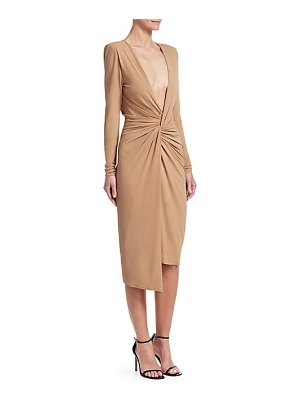 Alexandre Vauthier jersey knotted bodycon dress