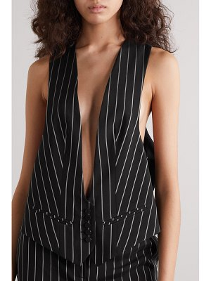 Alexandre Vauthier pinstriped twill vest