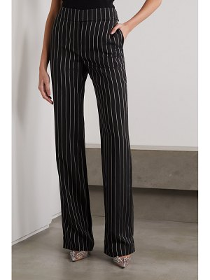 Alexandre Vauthier pinstriped twill wide-leg pants