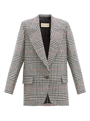 Alexandre Vauthier prince-of-wales-checked wool jacket