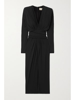 Alexandre Vauthier ruched stretch-crepe dress