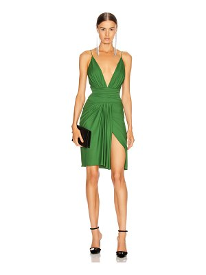 Alexandre Vauthier stretch jersey mini dress