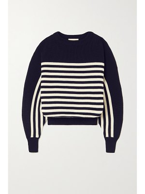 Alexandre Vauthier striped wool sweater