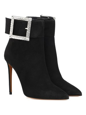 Alexandre Vauthier Yasmin suede ankle boots
