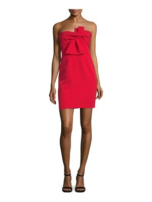 Alexia Admor Bow-Front Mini Dress