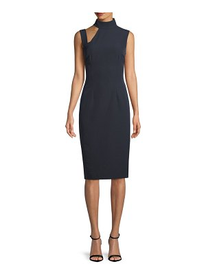 Alexia Admor Cut-Out Mockneck Sheath Dress
