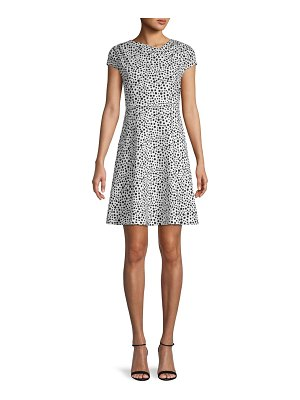 Alexia Admor Dot-Print Mini Dress