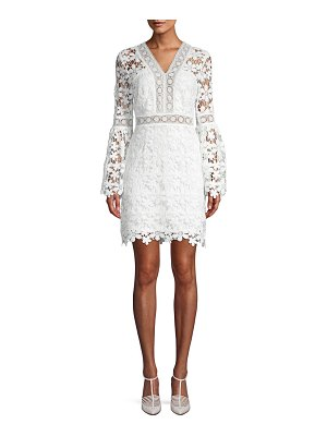 Alexia Admor Floral Lace Sheath Dress