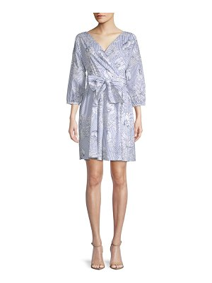 Alexia Admor Floral Wrap Dress