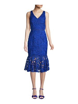 Alexia Admor Midi Lace Dress