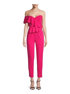 Alexia Admor Tiered Ruffle Jumpsuit