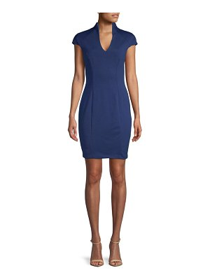 Alexia Admor V-Neck Sheath Dress