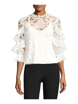Alexis ariell lace top