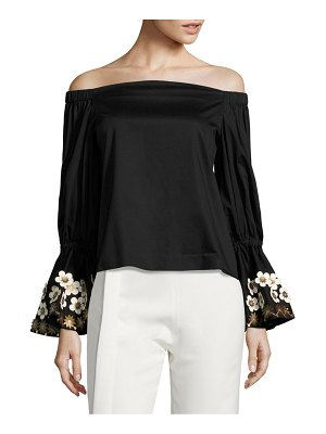 ALEXIS BARBARA Juniper Off-The-Shoulder Blouse