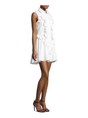 ALEXIS BARBARA Huxley Ruffle Shirt Dress