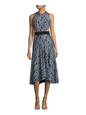 ALEXIS BARBARA Maile Lace Cutout Midi Dress