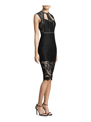 ALEXIS BARBARA Oralie Lace Bodycon Dress