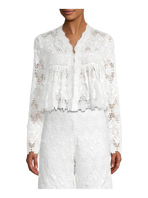 Alexis betrice lace top