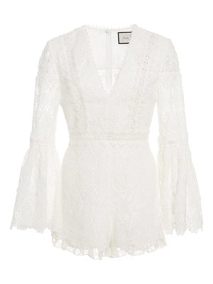 Alexis caralyn guipure lace romper