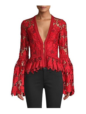 Alexis vinton v-neck lace top