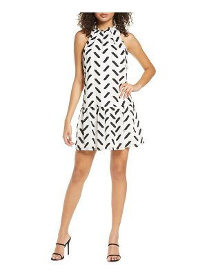 Ali & Jay agua caliente embroidered shift dress