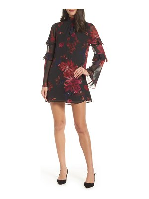 Ali & Jay everything is everything floral chiffon minidress