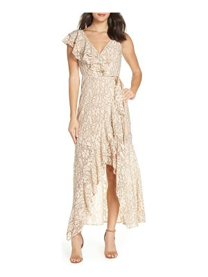 Ali & Jay i've got moves lace maxi wrap dress