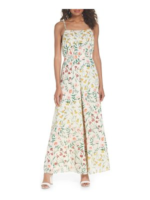 Ali & Jay lunching lady floral jumpsuit
