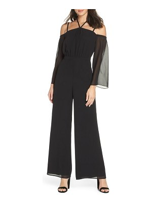 Ali & Jay never waking up cold shoulder jumpsuit