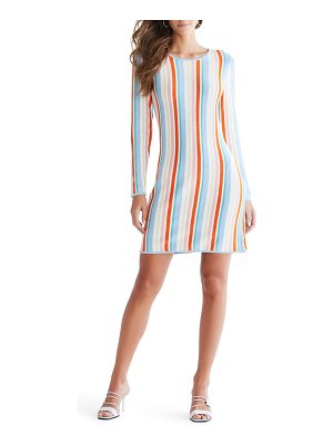 Ali & Jay the oasis stripe long sleeve minidress