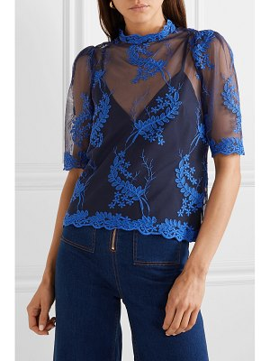 Alice McCall honeymoon embroidered tulle top