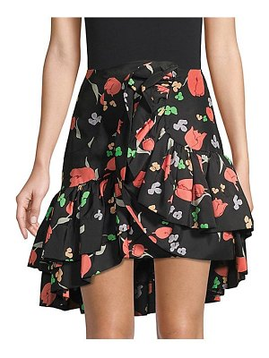 Alice McCall perhaps floral ruffle mini skirt