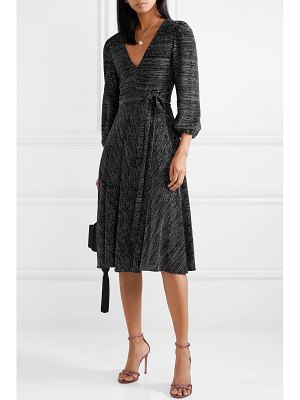 Alice + Olivia alice olivia - coco stretch-lurex midi dress