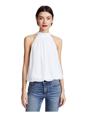 Alice + Olivia maris gathered halter top