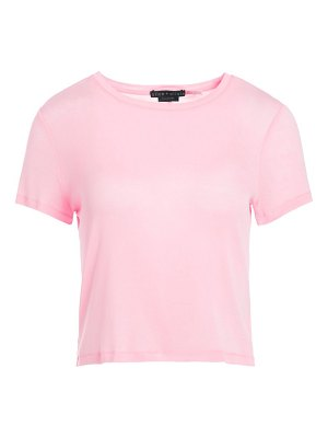 Alice + Olivia Cindy Classic Cropped T-Shirt