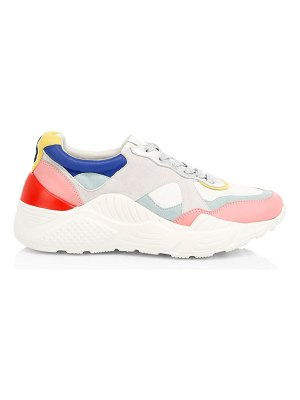 Alice + Olivia claudine colorblock leather sneakers