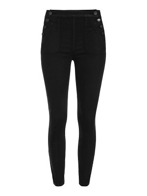 ALICE + OLIVIA JEANS donald coated skinny pants