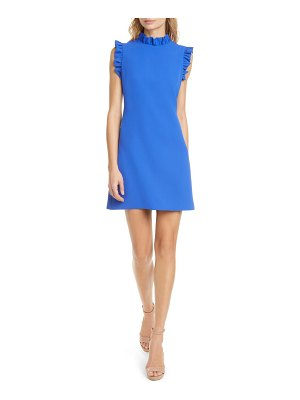Alice + Olivia elsa ruffle trim minidress