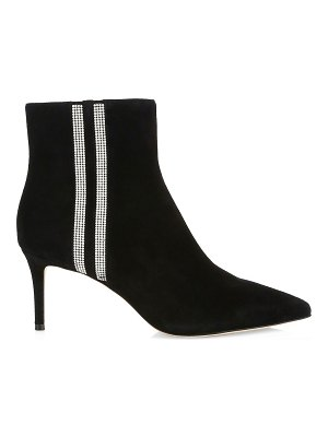 Alice + Olivia flossly embellished suede ankle boots