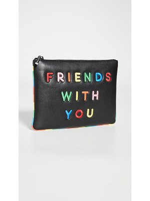 Alice + Olivia friends with you x  vita mini clutch