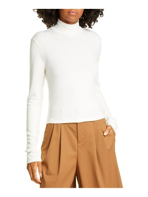 Alice + Olivia garrison mock neck slim knit top