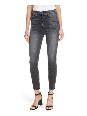 AO.LA by alice + olivia ao. la by alice + olivia good exposed button skinny jeans