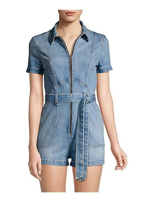 ALICE + OLIVIA JEANS denim jumpsuit