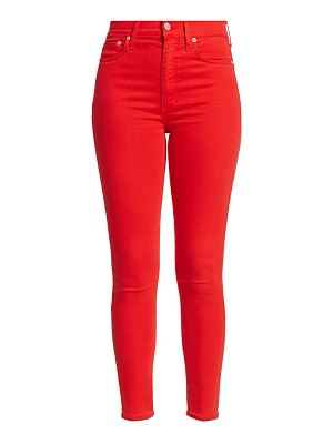 ALICE + OLIVIA JEANS good high-rise skinny ankle jeans